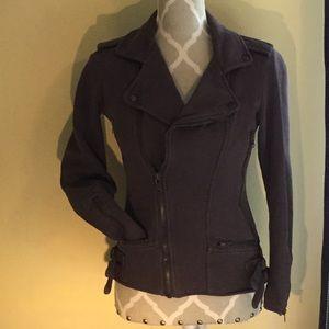 Forever 21 Cotton Blend Moto Jacket